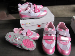 Geox Running Shoes, Girls size 1, Brand New, REDUCED