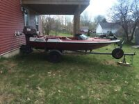 14 ft Fibreglass Fishing/Speed Boat