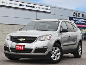 2015 Chevrolet Traverse LS  ONE OWNER CLEAN HISTORY BOUGHT & SER