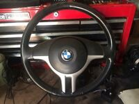 BMW e46 and x5 steering wheel