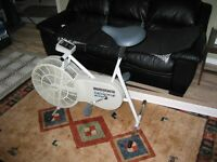 exercise bike with no handle bars, new condition