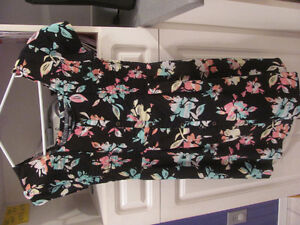 Girls colourful dress - size 14