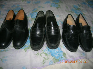 MEN'S DRESS SHOES BROWN AND BLACK