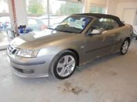 Saab 9-3 Aero 2.8T V6 Auto Convertible. From £122.90 per month / 36 months.