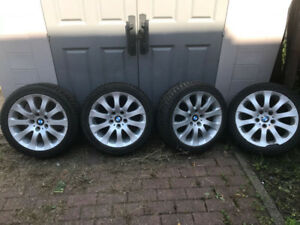 BMW Mags Winter tires 17 inches / Roues pneus hiver 225/45/17