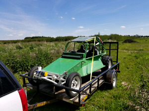 VW Dune Buggy/Sand Rail and 2013 Big Tex trailer. With extras!