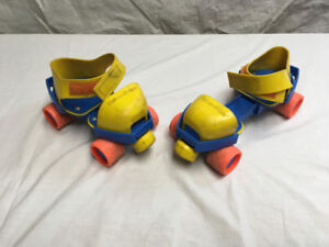 patin a roulette fisher price 1984 roller skate jouet auto r b n