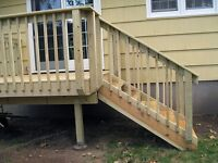 Looking for handyman to build small deck