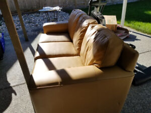 Brohill Leather Couch