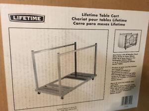 "Banquet Table cart - ""Lifetime"" or best offer"