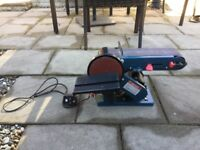 Silverline bench belt and disk sander