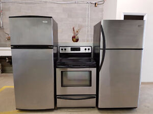 QUALITY USED STAINLESS STEEL FRIDGES ~ BARRIE