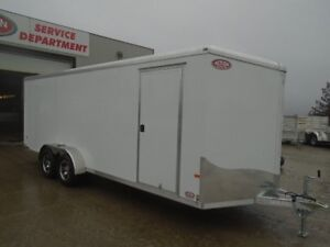 2017 NEO 7' X 20' Round Top Sport Tandem Axle Trailer Serial # 1