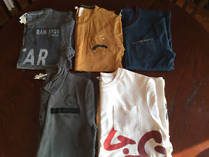 G-STAR SHIRS, T-SHIRTS & LONG SLEEVES - VERY GOOD CONDITION