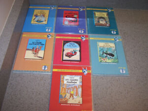 7 FRENCH TINTIN DVDS- Speciale 77th Anniversaire - ZONE 2