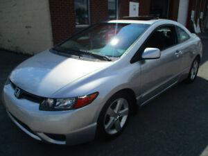 2008 Honda Civic EX-L Coupe (2 door)