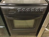 Pyrolytic 60 cm black Electric Cooker