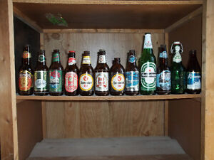Aproximatly 400 Beer Bottles from around the world