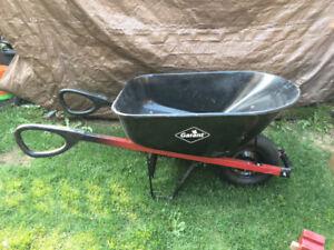 Wheelbarrow - 6 cu ft steel tray