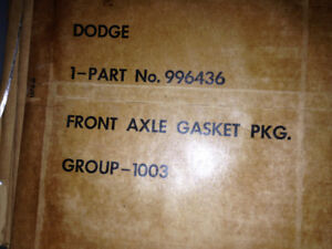Military m37 army m43 dodge m152 wc power wagon front gasket set