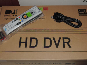 DIRECTV HR24 HD DVR, HD/DVR WITH REMOTE AND HDMI CABLE IN BOX