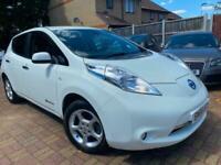 Nissan Leaf E ( 80kw ) ( 30kWh ) Auto 2017 Acenta ZERO EMMISION LOW MILEAGE