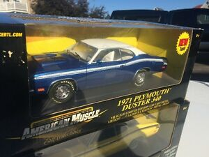 Plymouth Duster 340 1971 diecast 1/18 die cast