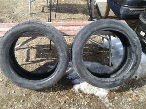 2 LIKE NEW LOW PROFILE  225/45R17