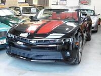 CHEVROLET CAMARO RS 3.6 V6 Black Auto CONVERTIBLE 2014