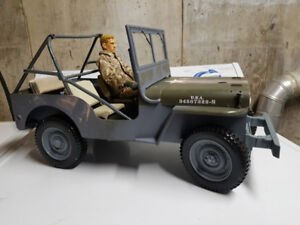 Rc jeep willys project  large 1/6th scale -- No Trades  !!