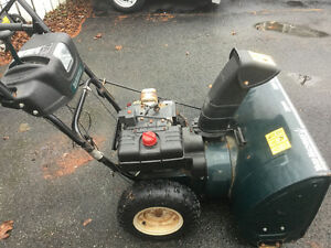 Snow blower, yard machine, 28 in cut St. John's Newfoundland image 1