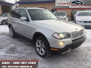 2009 BMW X3 3.0i AWD ONLY 82540 KMS ONE OWNER MINT!!!
