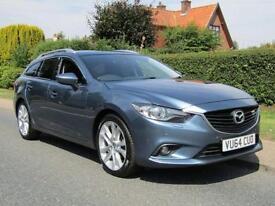 2014 Mazda 6 2.2d SPORT 5DR TURBO DIESEL ESTATE * NEW SHAPE MODEL *103,000 MI...