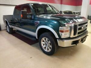 2008 Ford F-350 Super Duty Lariat 4x Crew Longbox And So Clean