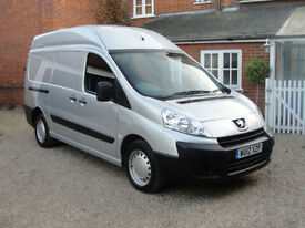2012 PEUGEOT EXPERT 2.0 HDi (130ps) LWB - H/ROOF L2 H2 - FSH - FINANCE ARRANGED