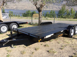 16ft or 18ft New Rainbow Car & Equpiment Trailers
