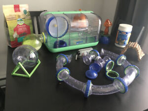 Cages hamsters nains