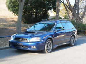 Twin turbo Subaru Legacy 5spd