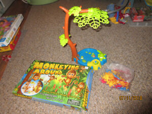 Monkeying Around strategy game