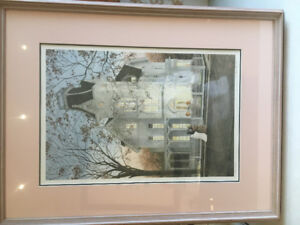Walter Campbell Limited Edition, Signed Print