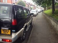4x4 7 seater low mileage