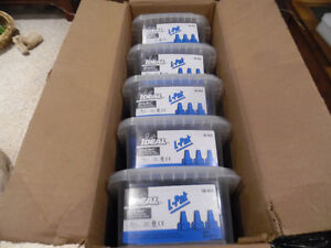 Ideal 30-454 Wing-Nut Wire Connector Blue Marette box of 250
