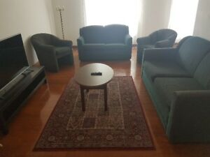 5 Pc Sofa Set - Old but in very decent condition