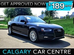 2015 Audi A4 $189B/W TEXT US FOR EASY FINANCING! 587-500-0471