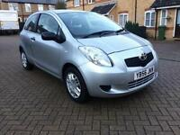 2007 Toyota Yaris 1.0 VVT-i Ion Hatchback 3dr Petrol Manual (127 g/km, 67