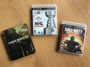 *Jeux Ps3:Call of Duty Black Ops 3-Dark Souls 2-NHL Legacy..
