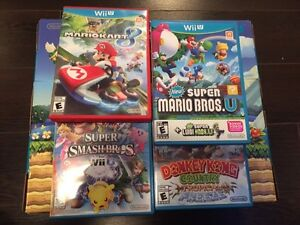 Wii U plus games for sale