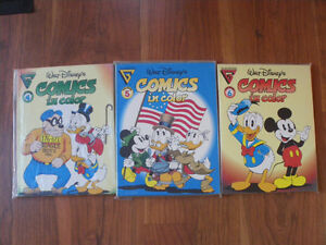 Lot of 3 giant-size Walt Disney Mickey Mouse Comics (Gladstone)