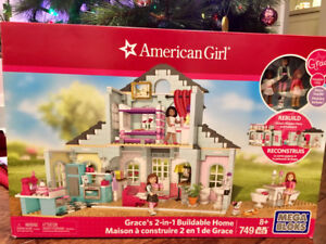 American girl Mega Bloks Grace 2-in-1 Buildable Home