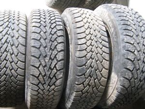 4 pneu sur jantes mazda 626 2001